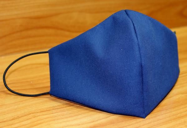 Behelfs-Mund-Nasen-Maske, marineblau