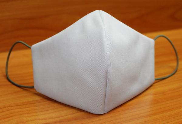 Behelfs-Mund-Nasen-Maske, hellgrau