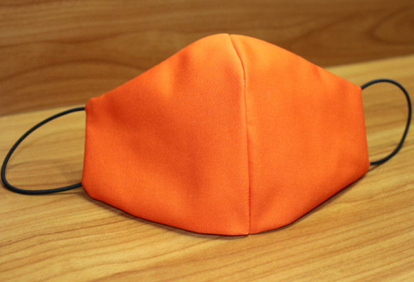 Behelfs-Mund-Nasen-Maske, orange