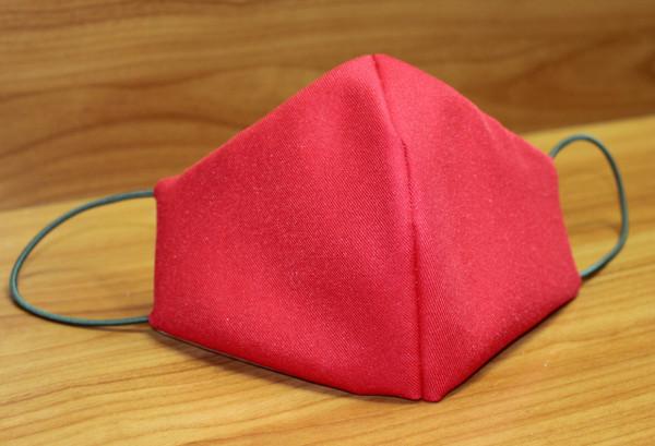Behelfs-Mund-Nasen-Maske, rot