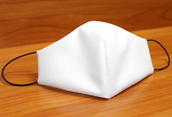 Behelfs-Mund-Nasen-Maske, weiss