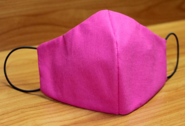 Behelfs-Mund-Nasen-Maske, pink